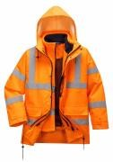 Hi-Vis Breathable Traffic Jacket