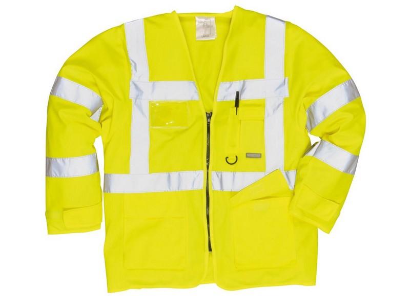 Jól láthatósági vezetői dzseki - sárga  Jól láthatósági ruházat ... 580ccf2896