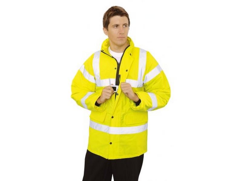 Jól láthatósági kabát - sárga  Jól láthatósági ruházat    Welt ... bdd0045fec